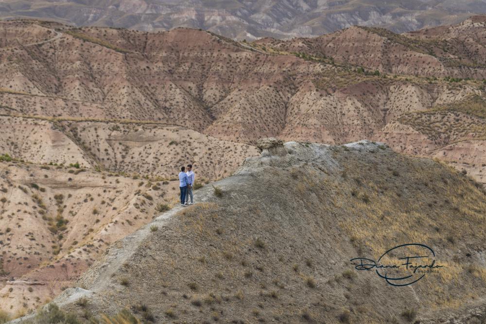 Pre Boda en el Geoparque de Gorafe (Granada)